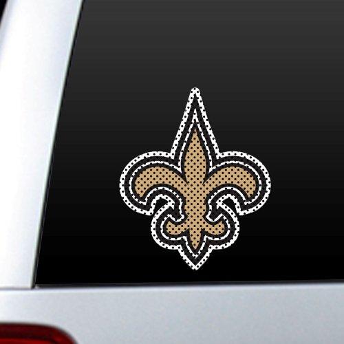 Fremont Die 46126 Diecut Window Film - New Orleans Saints 023245964265