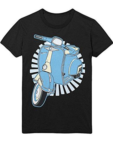 Hypeshirt T-Shirt Vespa Love H123341 Schwarz XL