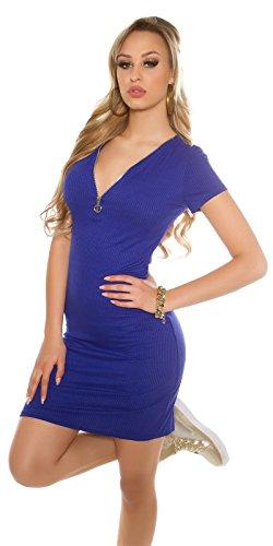 In-Stylefashion - Robe - Femme bleu bleu taille unique Bleu