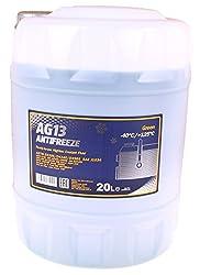 20 Liter MANNOL Kühlerfrostschutz grün | AG13 | -40°C Kühlflüssigkeit | schützt gegen Korrosion