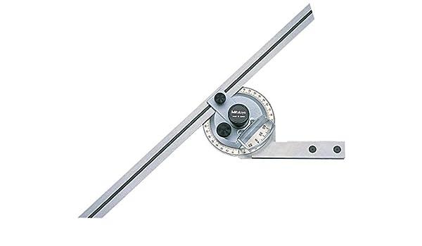 Buy Mitutoyo 187-906, Universal Bevel Protractor, 12 Blade