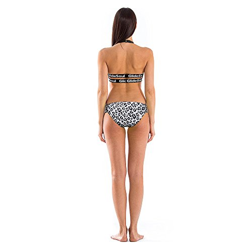 GlideSoul Damen Signature Collection Low Bikini-Höschen leopard