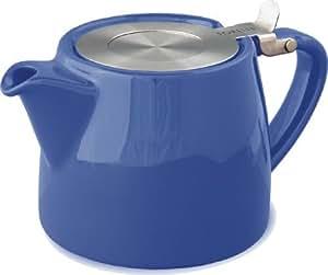 For Life Stump Teapot Marine Blue 18oz
