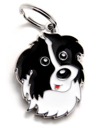 Plakette MyFamily Border Collie platte Hund kostenlosen Gravur Brauch Katze -