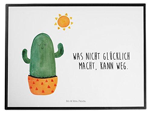 Mr. & Mrs. Panda Schreibtischunterlage Kaktus Sonnenanbeter - 100% handmade in Norddeutschland - Kaktus, Kakteen, Liebe Kaktusliebe, Sonne, Sonnenschein, Glück, glücklich, Motivation, Neustart, Trennung, Ehebruch, Scheidung, Freundin, Liebeskummer, Liebeskummer Geschenk, Geschenkidee Schreibtischunterlage, Schreibtisch, Unterlage