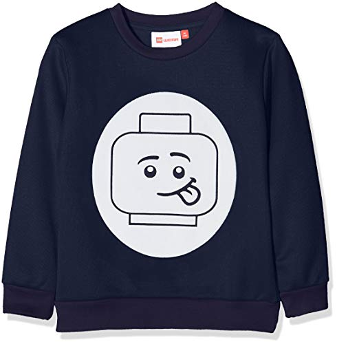 Lego Wear Jungen Lego Boy Sebastian 706 Sweatshirt, Blau (Dark Navy 590), 140 -