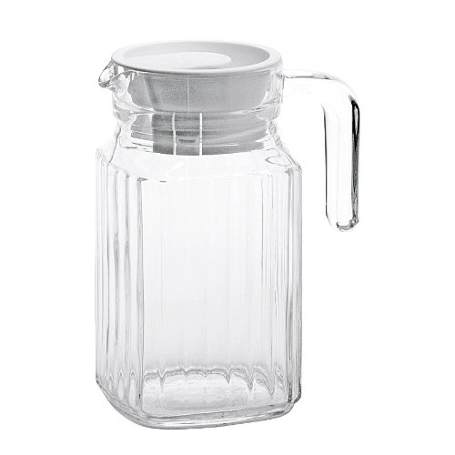 05l-litre-glass-fridge-jug-white-lid-water-squash-juice-milk-drinks-container