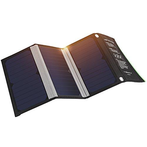 🔦🔦 Cuanto menos residuos, más potencia Gracias a paneles solares, se benefician de un total de conversión de energía solar proporción de hasta el 23,5%. Asegúrese de obtener siempre la máxima potencia que pueda. Conecte hasta dos dispositivos a la ve...