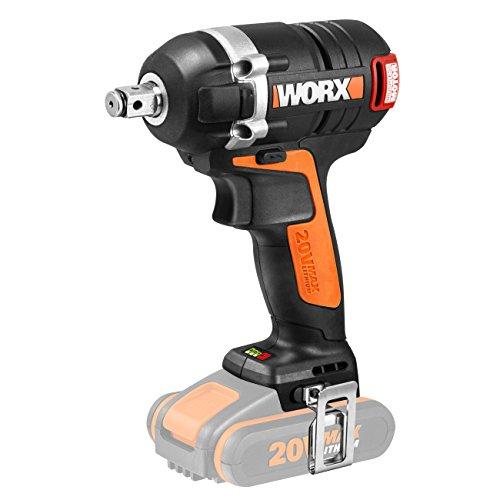 Worx WX279.9 Llave de Impacto, 0 W, 20 V, negro y naranja