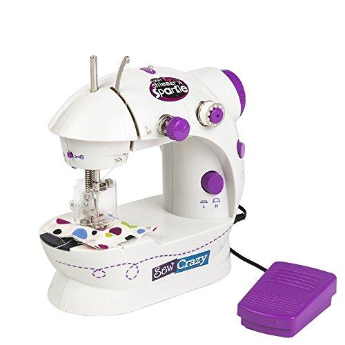 CRA-Z-ART Shimmer'n Sparkle Máquina de Coser con Sonido Real (ColorBaby 44080)