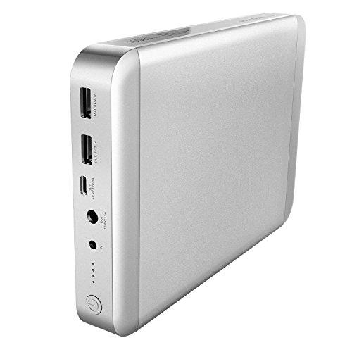 Macbook Air Externer Akku (MAXOAK 36000mAh USB-C Type C Tragbar Ladegerät äußerlich Batterie Power Bank für MacBook Pro MacBook Air 11/13/15 Inch Laptop Externe Akkus Ladegerät, können für Apple Notebook, Iphone)