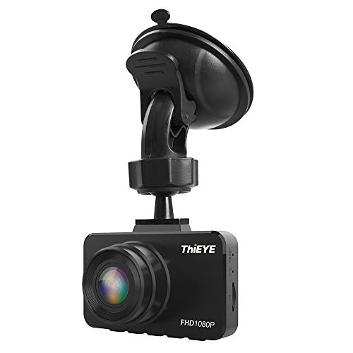 """Carrfan Cámara DVR Dash para Coche 2.45\""""1080P Dashcam Grabadora de Video para la conducción de automóviles"""