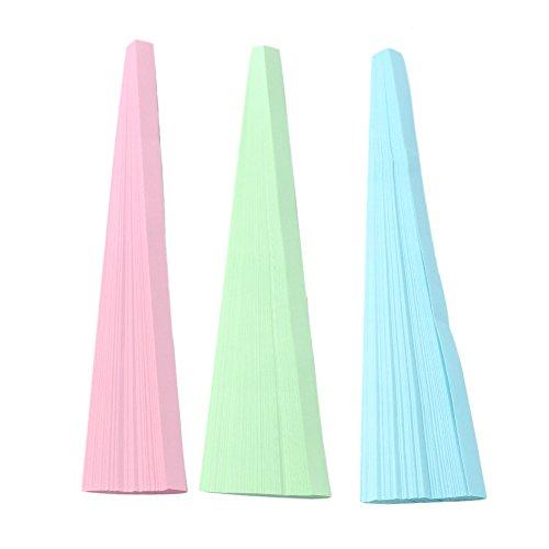 3 Farbe Origami Lucky Star Papier Streifen Klapp DIY Geburtstagsgeschenk 270 Streifen