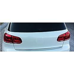 Akhan KS1107 - Edelstahl Chrom Kofferraumleiste Heckleiste Zierleiste geeignet für VW GOLF 6 (09-12)