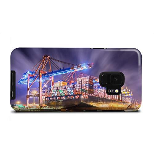 artboxONE Samsung Galaxy S9 Tough-Case Handyhülle Al Zubara von Jan Hartmann - Tough-Case Handyhülle Smartphone Case