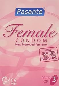 Pasante Frauen-Kondome, 3Stück