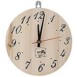 Jeffergarden 8in Sauna Clock Dekorative Timer Clock für Sauna Zubehör Sauna Room Home Decor