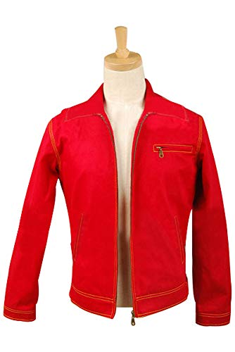 MingoTor Superheld Red Jacket Cosplay Kostüm Herren ()