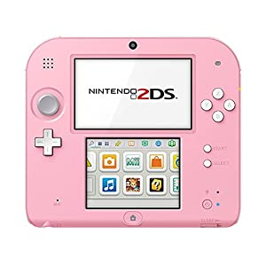 Nintendo 2DS – Konsole (White + Pink)