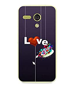 PrintVisa Designer Back Case Cover for Motorola Moto G :: Motorola Moto G (1st Gen) :: Motorola Moto G Dual (Heart Threads Puppet Strings Cupid Dots)