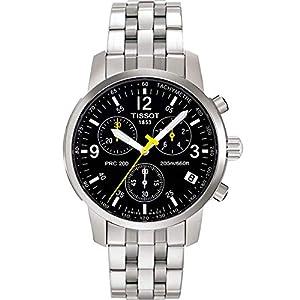 Tissot PRC 200 T1 – Reloj de Caballero de Cuarzo, Correa de Acero