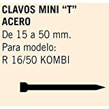 Cevik MCMINIT-40 - Clavos Mini T Acero Largo 40 mm. Caja de 1,5 Millares