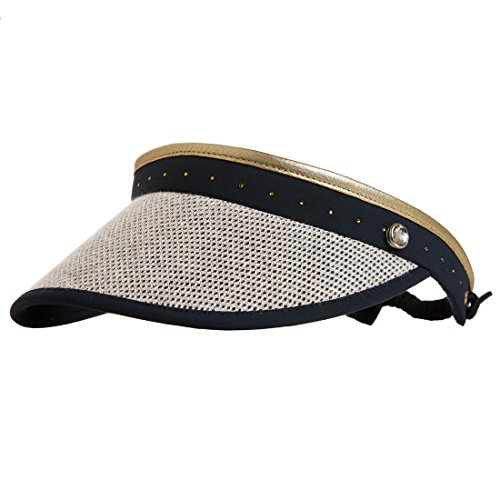 golfino-ladies-golf-visor-with-classy-mesh-blue-os