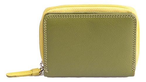 visconti-rainbow-genuine-soft-leather-two-tone-compact-multi-coloured-purse-wallet-rb-53-lime-cream