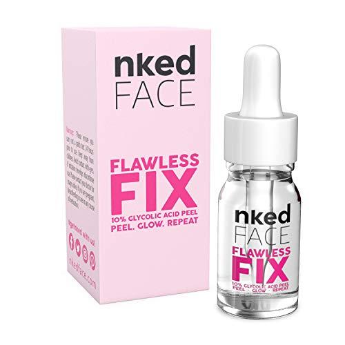 Exfoliador de piel químico para eliminar el acné, antiarrugas, 10 % de ácido glicólico