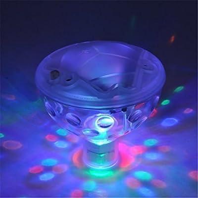 VWH 5 Light Patterns LED Disco AquaGlow Light Pond Pool Spa Hot Tub by Yingwei