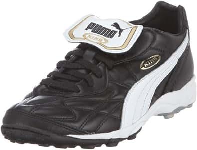 Puma King Allround TT, Unisex Adults Football Competition, Black (Black/White/Team Gold 01), 5 UK (38 EU)