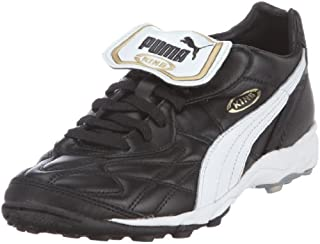 Puma Men's King Allround Turf Football Shoes, Black (Black/White/Team Gold 01), 9 UK (43 EU) (B000G529QM) | Amazon Products
