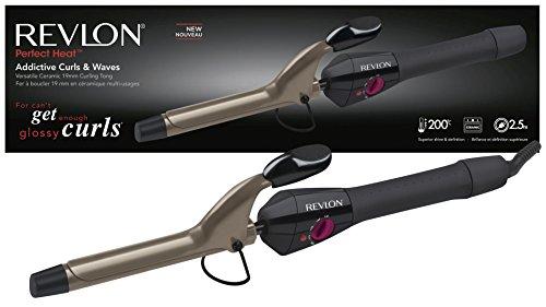 Revlon Addictive Curls and Waves Curling Tong - 41G 2BW 2Bs0kcL - Revlon Addictive Curls and Waves Curling Tong
