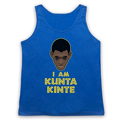 Roots I Am Kunta Kinte Tank-Top Weste Blau