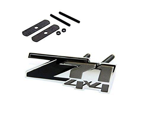 yoaoo1x-oem-grille-z71-emblem-4x4-for-gm-chevrolet-silverado-sierra-tahoev-black-chrome-by-yoaoo-gm