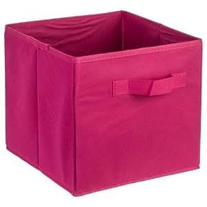 casier rangement tissus fushia tocadis cuisine maison. Black Bedroom Furniture Sets. Home Design Ideas