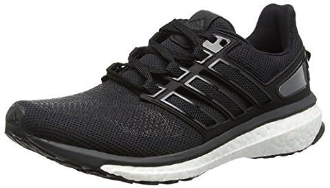 adidas Energy Boost 3, Chaussures de Running Compétition Femme, Noir (Core Black/Dark Grey/Solid Grey), 39 1/3