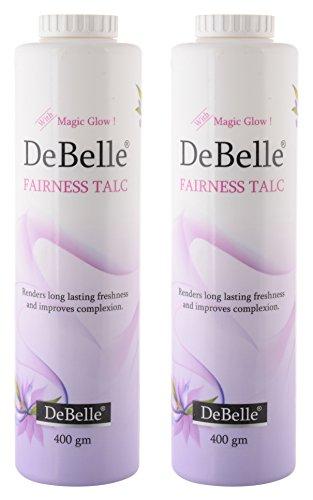 DeBelle Fairness Talc Combo Pack of 2 (400g each)
