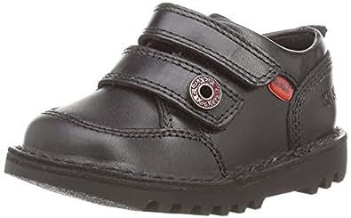 Kickers Kick Racer Mf Lthr Im, Boys' Loafers, Black (Black), 5 Child UK (22 EU)