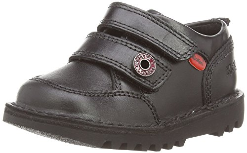 Kickers Kick Racer Mf Lthr Im, Boys' Loafers, Black (Black), 12 Child...
