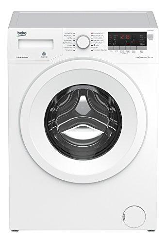 Beko WYAW 71483 LE Waschmaschine FL / A+++ / 172 kWh/Jahr / 1400 UpM / 7 kg / 10780 L/Jahr / Brushless-DC-Motortechnologie / weiß