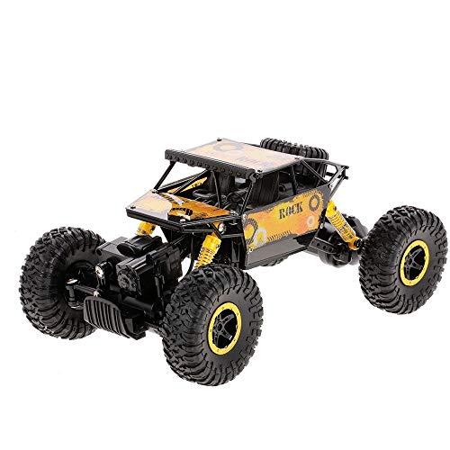 Editey Adulti Auto 1:18 2.4G 4WD Rock Crawler Buggy Car Alti Cavalli Vapore RC Auto Fuoristrada Ricarica da Regalo Azionamento Auto di Adult