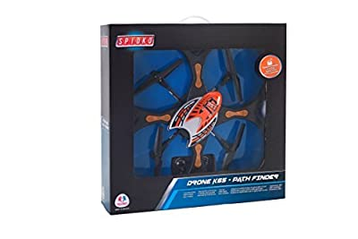 Globo Toys Globo - 37398 60 x 60 cm Spidko Radio Controlled Drone with Camera by Globo Toys
