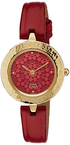Titan Analog Multi-Color Dial Women's Watch - 2529YL01