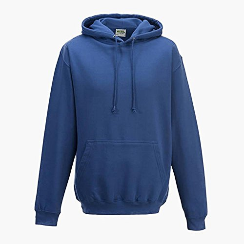 Just Hoods College Hoodie Oxford Navy