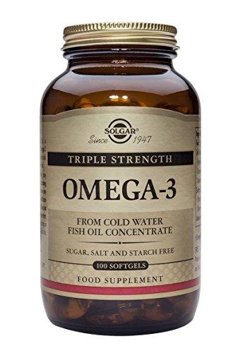 Solgar Solgar  E2058 Triple Strength Omega-3 Softgels – 100 Softgels