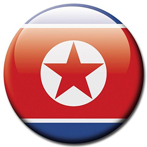 lagge Nord Korea Magnet Länder Flaggen Reise Souvenir für Kühlschrank stark groß 50 mm ()