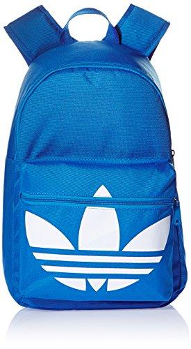 Adidas AJ8528 - Zaino Classic Trefoil, colore: blu/bianco, 13 x 28 x 44 cm, 16 litri