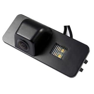 Akhan CAM08-1 - Farb Rückfahrkamera, Einparkhilfe, Kamera für Nummerschildbeleuchtung, Kennzeichenbeleuchtung