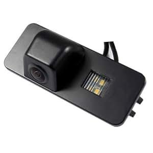 CAM08 - Colore telecamera di retrovisione con linee di griglia come luce targa, sensore di parcheggio per  Seat Altea , Leon , Skoda superb , VW Passat , Passat CC , PHAETON , Polo (2C) , Scirocco , Golf 4 5 6 , New Beetle
